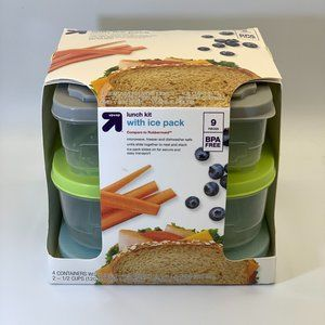 Target Up & Up 9 Piece Lunch Kit with Ice pack - B